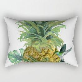 Tropical Pineapple Rectangular Pillow