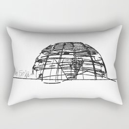 Reichstag Dome, Foster + Partners Rectangular Pillow