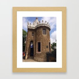 Park guell Spain Framed Art Print