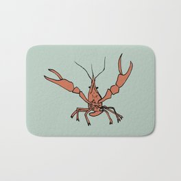 Mr. Crawfish Bath Mat