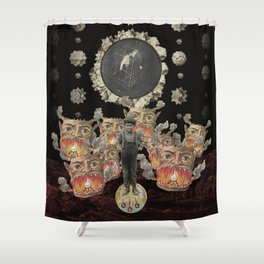 The Corruptible Alchemy of All Things Shower Curtain
