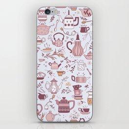 Teapots #1 iPhone Skin
