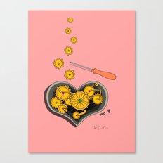 SHIFTING GEARS Canvas Print