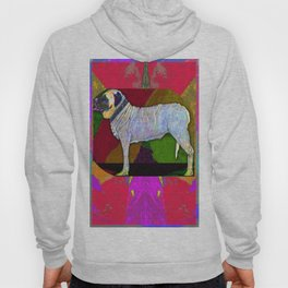 Mastifically Colorful Hoody