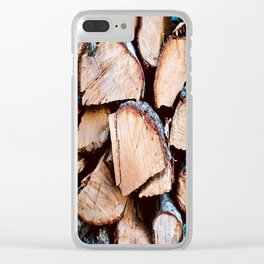 Woo-d Warm Clear iPhone Case