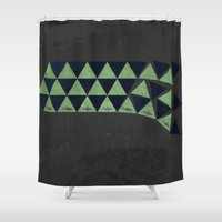waterfall Shower Curtains featuring Waterfall by Last Call