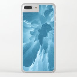 Ice Station Zebra Clear iPhone Case