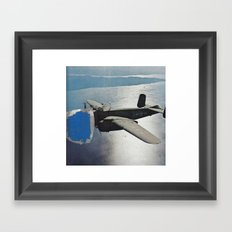 aeroplane Framed Art Print