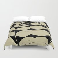 aelwen Duvet Covers featuring In the Jungle by Aelwen