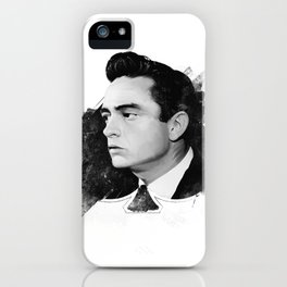 Cash - The King of Spades iPhone Case