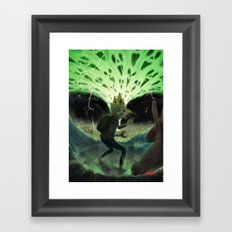 Finn The Human Framed Art Print