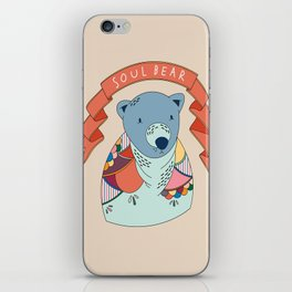 Soul Bear iPhone Skin