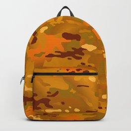 Camouflage: Hunting Orange Backpack