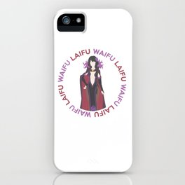 Waifu Laifu Anime Inspired Shirt iPhone Case