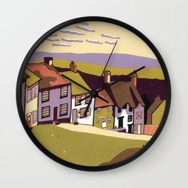 Gold Hill Wall Clock