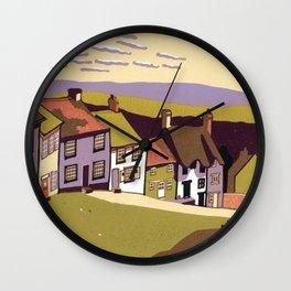 Gold Hill Wall Clock