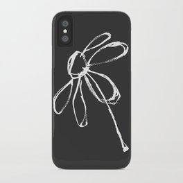 Flower at Dusk iPhone Case