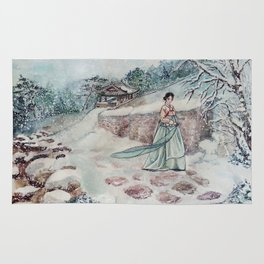Korean Winter (Merry Christmas) Rug
