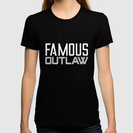 Wild West Collectables Famous Outlaw T-shirt