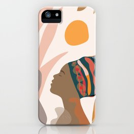 Women with the Turbans iPhone Case