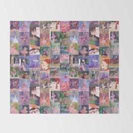 Nutcracker Pattern Throw Blanket