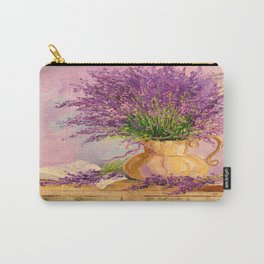 A bouquet of lavender Carry-All Pouch