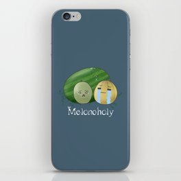 Melancholy Melons iPhone Skin
