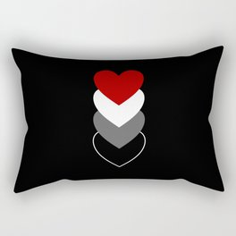 Placiosexuality in Shapes Rectangular Pillow