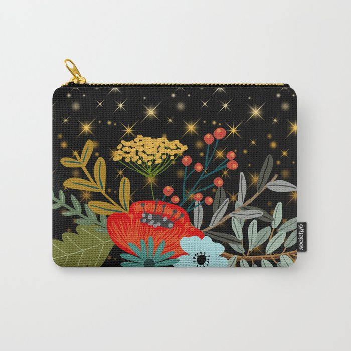 Floral bouquet #5 Carry-All Pouch