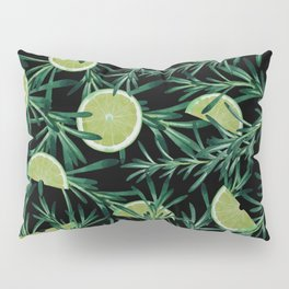 Rosemary and Lemon Pillow Sham