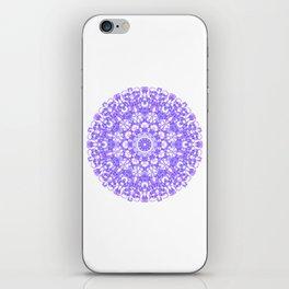 Mandala 12 / 1 eden spirit purple lilac white iPhone Skin