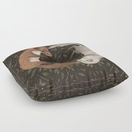 Foxes Floor Pillow
