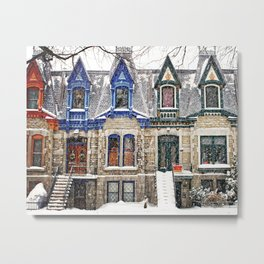 The Enchanting Winter Metal Print