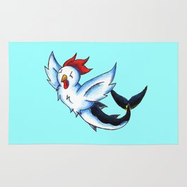 Chickenfish Rug