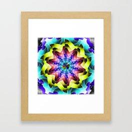 Mandala Earth Framed Art Print