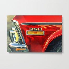 """""""350"""" Metal Print"""