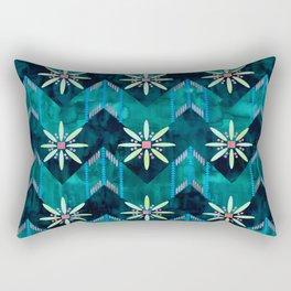 Biarritz Chevron Green Rectangular Pillow