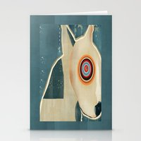 bull terrier Stationery Cards featuring bull terrier days by bri.buckley