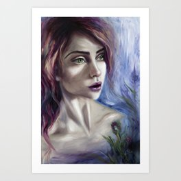 Johanna Art Print