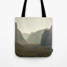 Yosemite Tunnel View Tote Bag