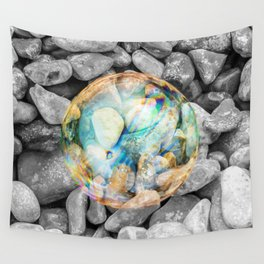 BUBBLE BEAUTY Wall Tapestry