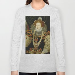 Portrait of Elizabeth I Long Sleeve T-shirt