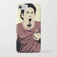 messi iPhone & iPod Cases featuring Messi by Renan Lacerda