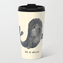 Seal Of Approval Travel Mug