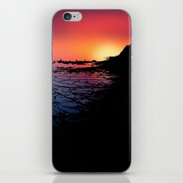 Silhouettes in the Desert iPhone Skin