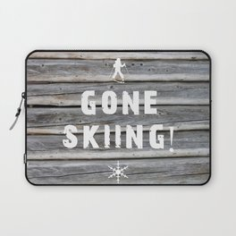 Gone Skiing! Laptop Sleeve