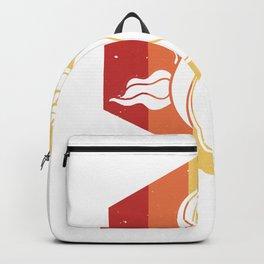 Unicorn Avocado Guac Vegan Vintage Retro Backpack