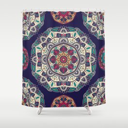 Colorful Mandala Pattern 007 Shower Curtain