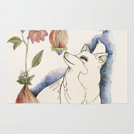 Fox in the fruit Rug