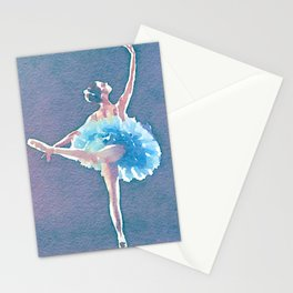 Behind those ballet shoes Stationery Cards